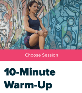 Fitbit Coarch おすすめエクササイズ1【10-Minute Warm-Up】