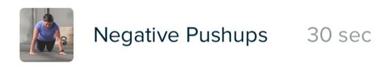 Fitbit Coarch(コーチ) おすすめエクササイズ4【Intro to push-ups】
